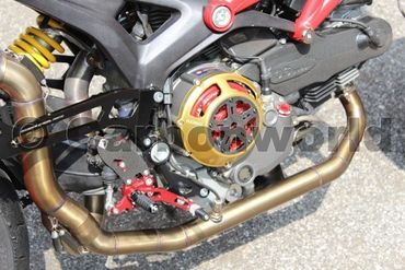 clutch cover gold Ducabike for Ducati – Image 2