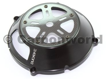 clutch cover black Ducabike for Ducati – Image 3