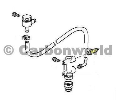 Rear pressure switch short for rearset Ducabike for Ducati Monster – Image 3