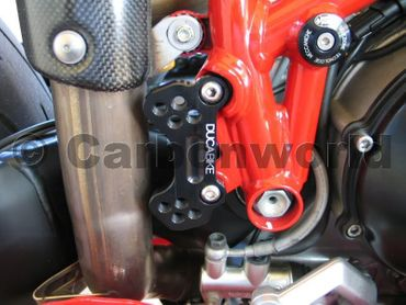 adjustable rear sets supports black Ducabike for Ducati 749 999 – Image 3