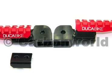 foot peg red adjustable Ducabike  for Ducati – Image 3