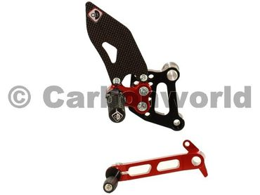 rearset black/red Ducabike for Ducati 749 999  – Image 2