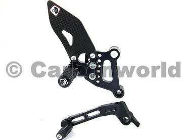rearset black Ducabike for Ducati 749 999  – Image 2