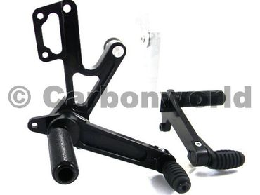 rearset black Ducabike for Ducati Monster 400-600-620-695-750-900-1000-S4 – Image 2
