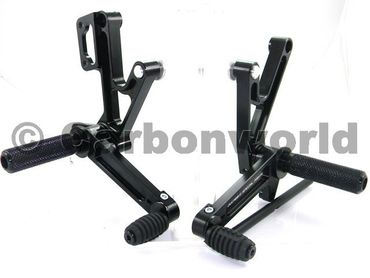rearset black Ducabike for Ducati Monster 400-600-620-695-750-900-1000-S4 – Image 1