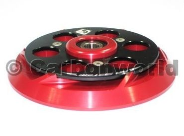 pressure plate red/black CNC gefräst Ducabike for Ducati – Image 2