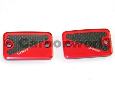 fluid tank cap red Ducabike for Ducati Monster