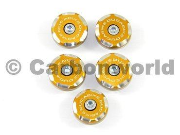 kit frame plugs  racing gold  Ducabike for Ducati Multistrada