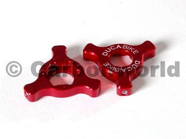 fork preload adjuster red Ducabike for Ducati ( 22 mm) – Image 1