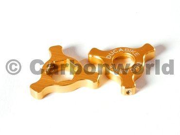 Registri forcella oro Ducabike per Ducati ( 22 mm) – Image 1