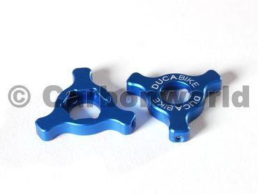 Gabeleinsteller blau Ducabike für Ducati ( 22 mm) – Bild 1