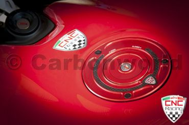 Fuel tank cap red CNC Racing Key block for Ducati – Image 2