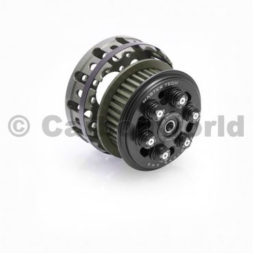 slipper clutch Master Tech + basket black CNC Racing for Ducati