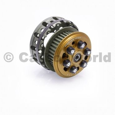 slipper clutch Master Tech + basket gold CNC Racing for Ducati