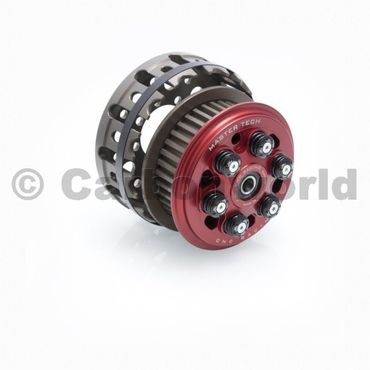 slipper clutch Master Tech + basket red CNC Racing for Ducati
