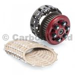Antihoppingkupplung Master Tech mit Korb/ Belege rot CNC Racing für Ducati 001