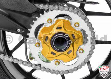 rear sprocket flange gold CNC Racing for MV Agusta – Image 2