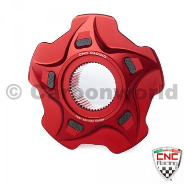 bride porte couronne rouge CNC Racing pour MV Agusta – Image 1