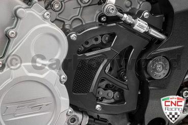 Protège pignon noir CNC Racing pour MV Agusta Brutale F3 675 800 – Image 2