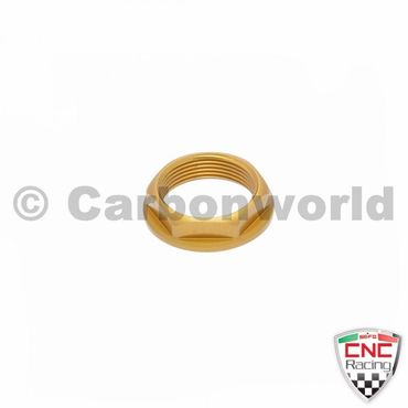 front wheel axle nut gold CNC Racing for MV Agusta F3 B3 and Ducati