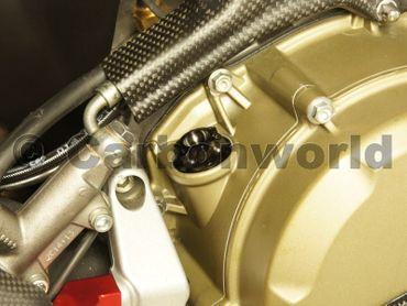 bouchon complet  CW Racingparts  titane noir pour Ducati 848 Streetfighter 848 – Image 5