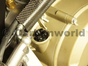 Oilcap CW Racingparts Titan black for Ducati Monster 696 796 1100 Evo – Image 2