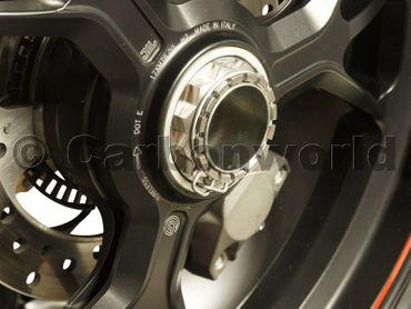 roue arrière écrou kit CW Racingparts  titane pour Ducati Streetfighter 1098 – Image 6