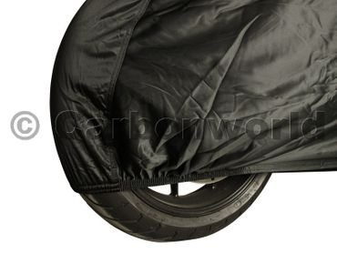 luxury motorcycle cover indoor black carbonworld – Image 3