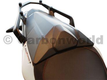 Sitzbankdeckel Carbon matt für Ducati Multistrada 1200 – Bild 7
