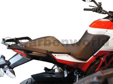 Sitzbankdeckel Carbon matt für Ducati Multistrada 1200 – Bild 8