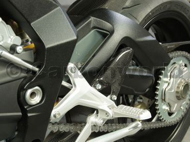 Fersenschutz Carbon für MV Agusta F3 675 800 – Bild 5