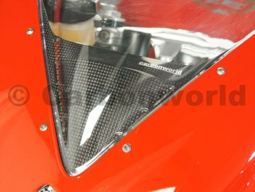 headlight guard carbon fiber for MV Agusta F3 675 800 – Image 6