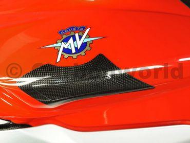 Copriserbatoio in carbonio per MV Agusta F3 675 800 – Image 2