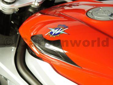 feul tank guard carbon fiber for MV Agusta F3 675 800 – Image 6