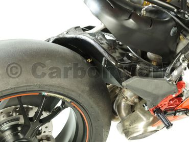 rear hugger carbon corse for Ducati 1199 1299 Panigale – Image 4