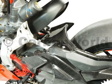 rear hugger carbon corse for Ducati 1199 1299 Panigale – Image 7