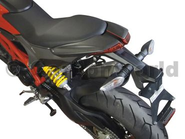 tail cover carbon fiber mat for Ducati Hypermotard 821/939 – Image 2