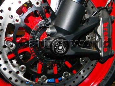front wheel caps kit racing black Ducabike for Ducati Monster 696 620 900 1000 S2R S4R – Image 4