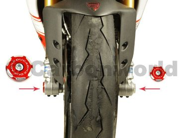 Tappo routa kit racing rosso Ducabike per Ducati Monster 696 620 900 1000 S2R S4R – Image 2