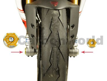 Tappo routa kit racing oro Ducabike per Ducati Multistrada 1200, Monster 1200 – Image 2