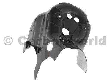 heat guard carbon carbon for Ducati 899 1199 Panigale – Image 1