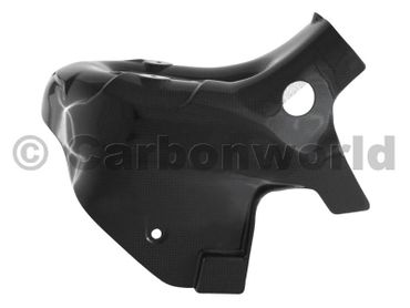 heat guard carbon carbon for Ducati 899 1199 Panigale – Image 2
