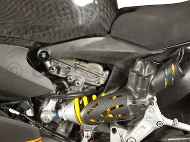 frame cover kit carbon for Ducati 1199 Panigale – Image 2