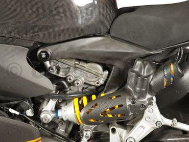 Rahmenblenden groß Carbon für Ducati 1199 Panigale – Bild 2