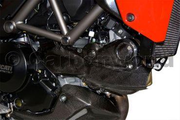 Copricinghia carbonio opaco Ducati Multistrada 1200 – Image 2