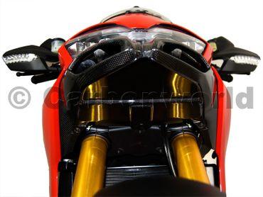 ram air bottom plate carbon mat for Ducati Multistrada – Image 2