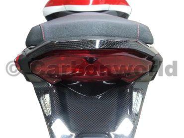 rear frame cover carbon mat for Ducati Multistrada 1200 – Image 4