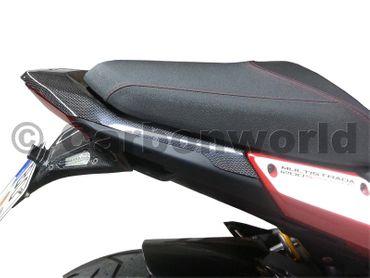 rear frame cover carbon mat for Ducati Multistrada 1200 – Image 5