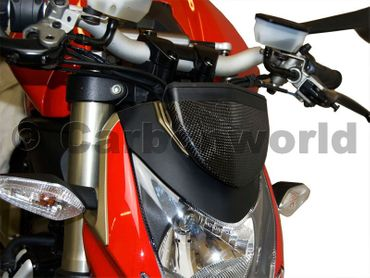 instrument cover carbon mat for Ducati Streetfighter – Image 2