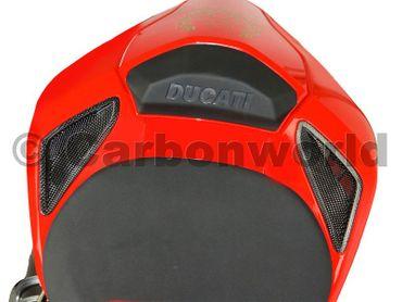 Lufteinlässe Carbon matt für Ducati Streetfighter – Bild 2
